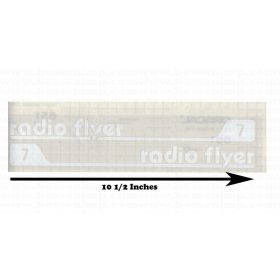 Decal Radio Flyer 7 version 2 Wagon
