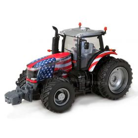 1/64 Massey Ferguson 8730 MFD with rear duals US Flag