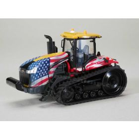 1/64 Challenger MT-865E on track with US Flag