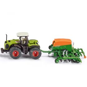 1/87 Claas Xerion w/Amazone Cayena 6001 Air Drill