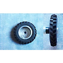 1/64 Tire & rim 13.6-36 pair