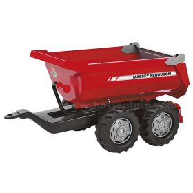 Massey Ferguson Tipping Trailer for Plastic Pedal Tractor