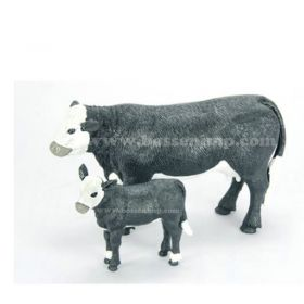 1/20 Cow Black Baldy Cow & Calf