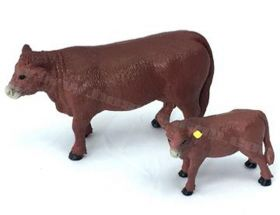 1/20 Cow Angus Cow & Calf Red