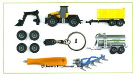1/128 JCB Fastrac w/Accessories or Key Chain