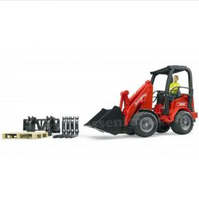 1/16 Schaffer Compact Loader 2034 with accessories