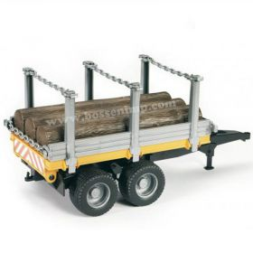 1/16 Trailer Forestry with Logs