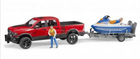 1/16 Dodge Ram 2500 Pickup with Jet Ski & Rider