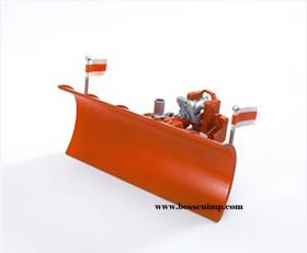 1/16 Snow Plow Front Mount MB, Mack & MAN Trucks