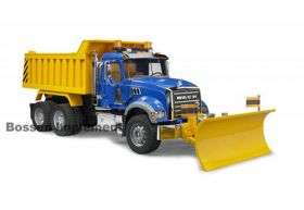 1/16 Mack Granite Dump Truck with Snow Plow Blade