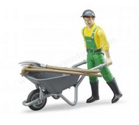 1/16 Farmer with accessories