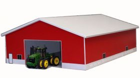 1/64 Machine Shed 60 X 80 White & Red