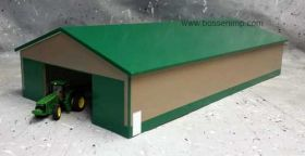 1/64 Machine Shed 60 X 120 Green & Tan
