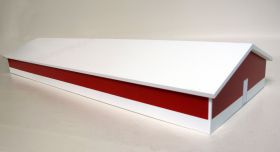 1/64 Hog Shed 40 x 80 White and Red