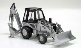 1/35 Case Backhoe/Loader 580D Silver Anniversary
