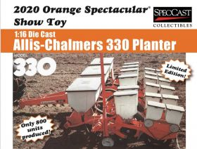 1/16 Allis Chalmers Planter  '20 Orange Spectacular
