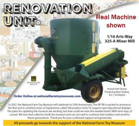 1/16 Arts Way 325A Mixer Mill '21 NFTM Renovation Model