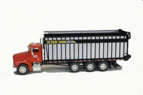 1/64 Peterbilt with H&S Big Dog 1226 Forage Box red