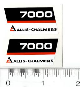 Decal 1/16 AC 7000 Model Numbers (Black Belly) (Pair)