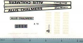 Decal 1/16 Allis Chalmers 190 Set (bar grille)