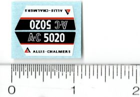 Decal 1/16 AC 5020 Model Numbers (Pair)