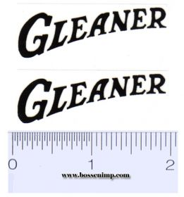 Decal 1/16 Allis Chalmers Gleaner (pair)