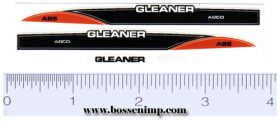 Decal 1/64 AGCO Gleaner A-85 Set
