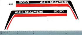 Decal 1/16 Allis Chalmers 8050 Hood Pannels