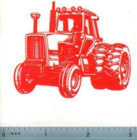 Decal Allis Chalmers 7045 Tractor (orange on clear)