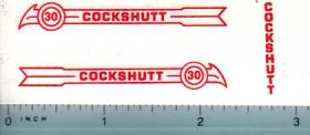 Decal 1/16 Cockshutt 30 (red)