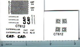 Decal 1/50 Caterpillar Miscellaneous Set
