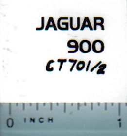 Decal 1/64 Claas Jaguar 900