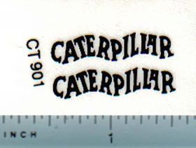 Decal Caterpillar Logo (black)