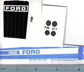 Decal 1/12 Ford 5600 set