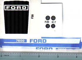 Decal 1/12 Ford 7600 set