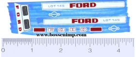 Decal 1/12 Ford LGT 145 Set