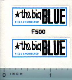 Decal 1/12 Ford The Big Blue Forage Wagon