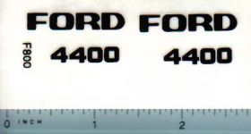 Decal 1/12 Ford 4400 Industrial without Grille