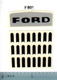 Decal 1/12 Ford Industrial Grille