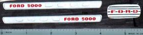 Decal 1/12 Ford 5000 Split Grille Set