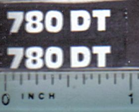 Decal 1/16 Hesston 780DT Model #