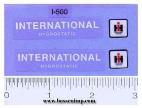 Decal 1/16 IH Combine 915 hydrostatic Set