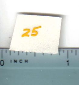 Decal 1/16 John Deere Combine 25 Pull Type Model Numbers