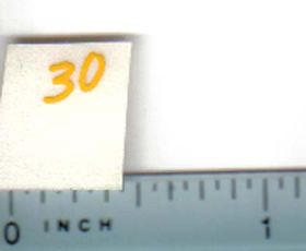 Decal 1/16 John Deere Combine 30 Pull Type Model Numbers