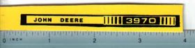 Decal 1/16 John Deere Forage Harvester 3970 Side Stripes