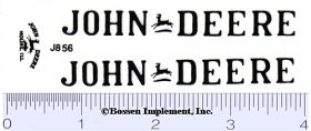 Decal 1/08 John Deere D Industrial Set