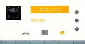 Decal 1/16 John Deere 1010 Set