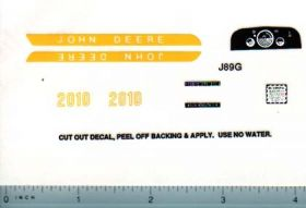 Decal 1/16 John Deere 2010 Set