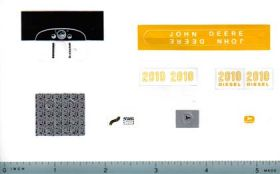 Decal 1/16 John Deere 2010 Set (Nolt)