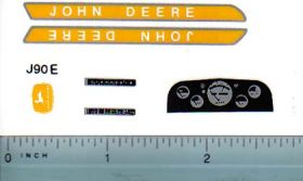 Decal 1/16 John Deere 20 Series Deluxe Set Early